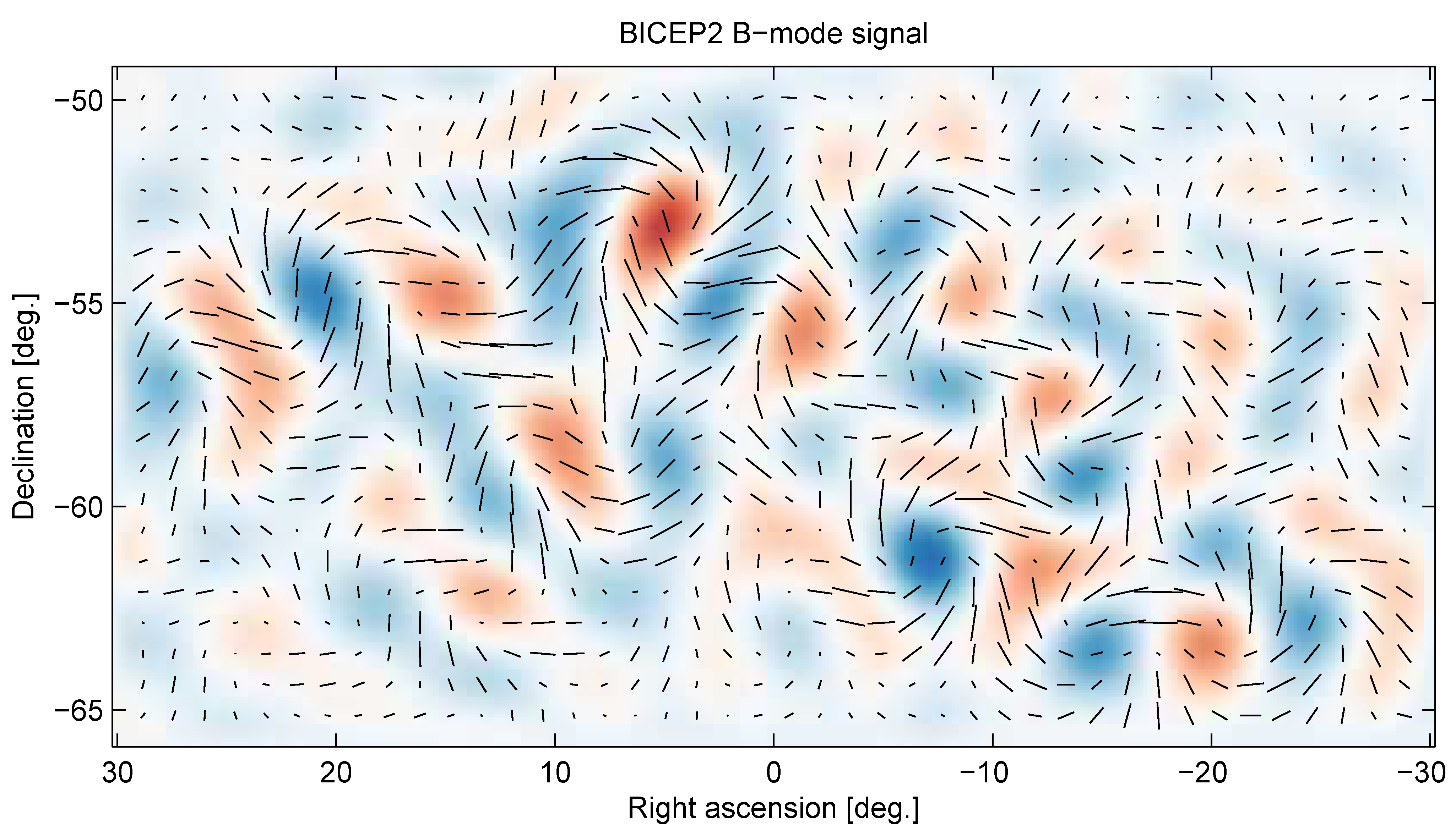 Twists in the cosmic microwave background that provide evidence for inflation